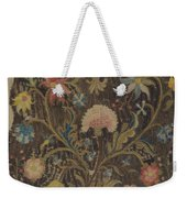 Crewel Embroidery For Chair Seat Weekender Tote Bag