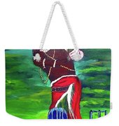 Cricket Warrior Weekender Tote Bag