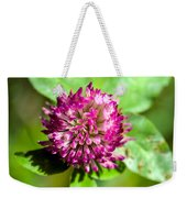 Crimson And Clover Weekender Tote Bag