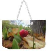 Crimson Berry Weekender Tote Bag