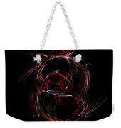 Crimson Dream Weekender Tote Bag