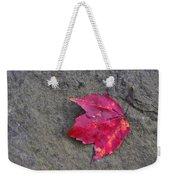 Crimson Weekender Tote Bag