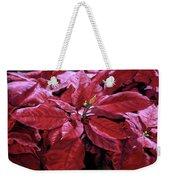Crimson Joy Weekender Tote Bag