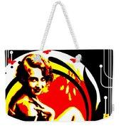 Crimson Moon Weekender Tote Bag