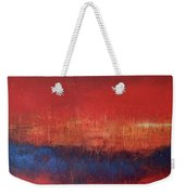 Crimson Sky Weekender Tote Bag