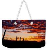 Crimson Sunrise  Weekender Tote Bag