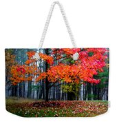 Crimson Tree Weekender Tote Bag