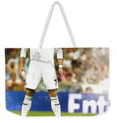 Cristiano Ronaldo Reacts Weekender Tote Bag