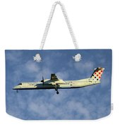 Croatia Airlines Bombardier Dash 8 Q400 Weekender Tote Bag