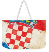 Croatia Flag Weekender Tote Bag by Setsiri Silapasuwanchai