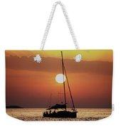 Croatian Sunset Weekender Tote Bag