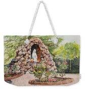 Crockett California Saint Rose Of Lima Church Grotto Weekender Tote Bag