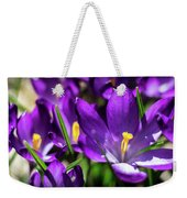 Crocus Amongst Us Weekender Tote Bag