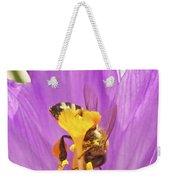 Crocus And The Bee Weekender Tote Bag