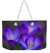 Crocus Blooms Weekender Tote Bag