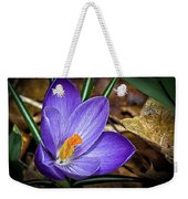 Crocus Emerging Weekender Tote Bag