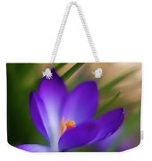 Crocus Light Weekender Tote Bag