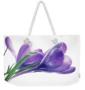 Crocuses - Impressions Weekender Tote Bag