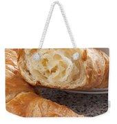 Croissants And Coffee Weekender Tote Bag