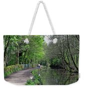 Cromford Canal - Tree Lined Walk Weekender Tote Bag