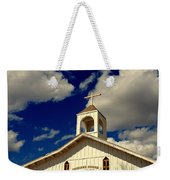 Crooked Creek Chapel Weekender Tote Bag