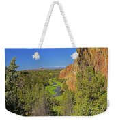 Crooked River And Mt Hood Oregon Weekender Tote Bag