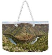 Crooked River Gorge Weekender Tote Bag