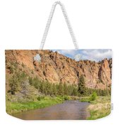 Crooked River II Weekender Tote Bag