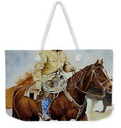 Cropped Ranch Rider Weekender Tote Bag