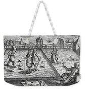 Croquet Weekender Tote Bag