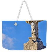 Cross 1-greenwood Cemetary Weekender Tote Bag