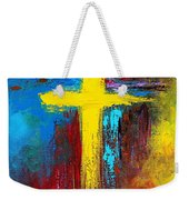 Cross 2 Weekender Tote Bag