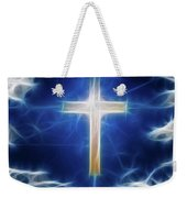 Cross Abstract Weekender Tote Bag
