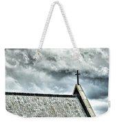 Cross Against An Angry Sky Weekender Tote Bag