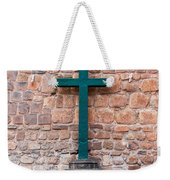 Cross And Cusco Cathedreal Weekender Tote Bag