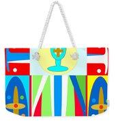 Cross Of Colors Weekender Tote Bag