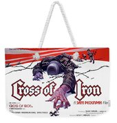 Cross Of Iron Theatrical Poster 1977 Weekender Tote Bag