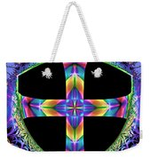 Cross Of One Way To God Weekender Tote Bag