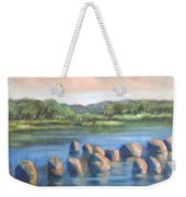 Cross Of Rocks  Weekender Tote Bag