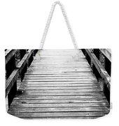 Cross Over Weekender Tote Bag
