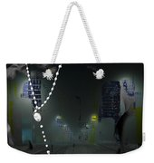 cross reference unreliable truth...Tony Adamo Weekender Tote Bag
