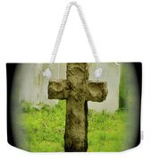 Cross Weekender Tote Bag