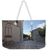 Cross Road In Sicily Weekender Tote Bag