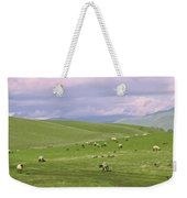 Cross Road Sheep Weekender Tote Bag