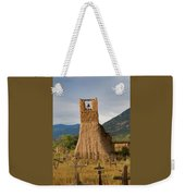 Cross Roads Weekender Tote Bag