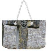 Cross Tombstone St. Mary's Wedmore Weekender Tote Bag
