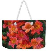 Cross Vine 2 Weekender Tote Bag