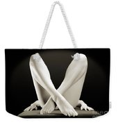 Crossed Legs Weekender Tote Bag