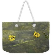 Crossed Sunflower  Weekender Tote Bag