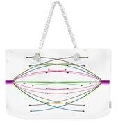 Crossed Wires 2 Weekender Tote Bag